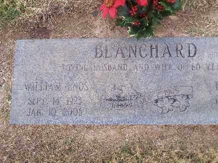 BLANCHARD, WILLIAM ENOS - Mohave County, Arizona | WILLIAM ENOS BLANCHARD - Arizona Gravestone Photos