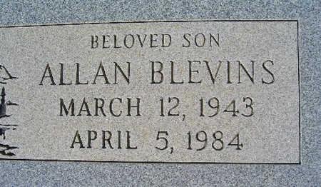 BLEVINS, ALLAN - Mohave County, Arizona   ALLAN BLEVINS - Arizona Gravestone Photos