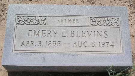 BLEVINS, EMERY L. - Mohave County, Arizona | EMERY L. BLEVINS - Arizona Gravestone Photos