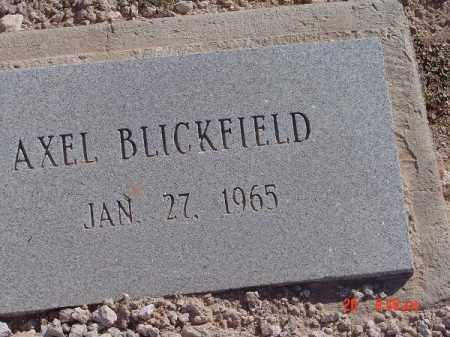 BLICKFIELD, AXEL - Mohave County, Arizona | AXEL BLICKFIELD - Arizona Gravestone Photos
