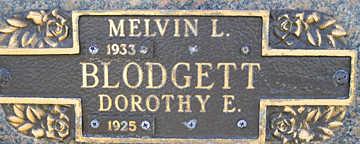 BLODGETT, MELVIN L - Mohave County, Arizona | MELVIN L BLODGETT - Arizona Gravestone Photos