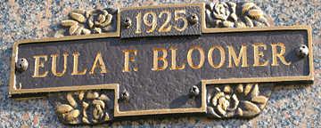 BLOOMER, EULA E - Mohave County, Arizona | EULA E BLOOMER - Arizona Gravestone Photos