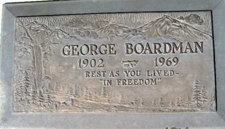 BOARDMAN, GEORGE - Mohave County, Arizona | GEORGE BOARDMAN - Arizona Gravestone Photos