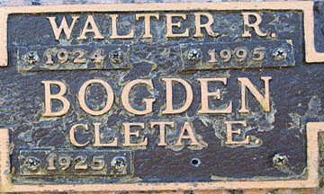 BOGDEN, CLETA E - Mohave County, Arizona   CLETA E BOGDEN - Arizona Gravestone Photos