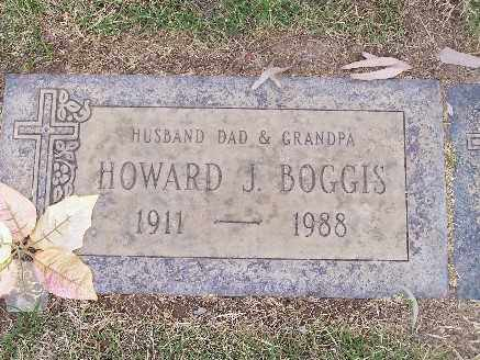 BOGGIS, HOWARD JAMES - Mohave County, Arizona | HOWARD JAMES BOGGIS - Arizona Gravestone Photos