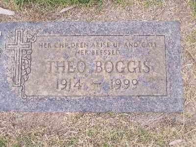 BOGGIS, THEO RUNDELL - Mohave County, Arizona | THEO RUNDELL BOGGIS - Arizona Gravestone Photos
