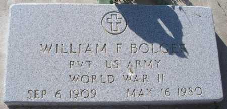 BOLGER, WILLIAM F. - Mohave County, Arizona | WILLIAM F. BOLGER - Arizona Gravestone Photos