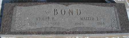 BOND, WALTER L. - Mohave County, Arizona | WALTER L. BOND - Arizona Gravestone Photos
