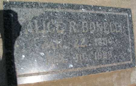 BONELLI, ALICE R. - Mohave County, Arizona   ALICE R. BONELLI - Arizona Gravestone Photos