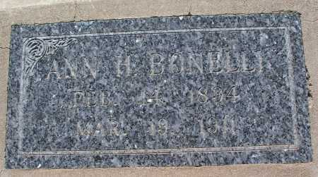 BONELLI, ANN - Mohave County, Arizona | ANN BONELLI - Arizona Gravestone Photos