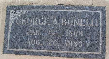 BONELLI, GEORGE A. - Mohave County, Arizona | GEORGE A. BONELLI - Arizona Gravestone Photos