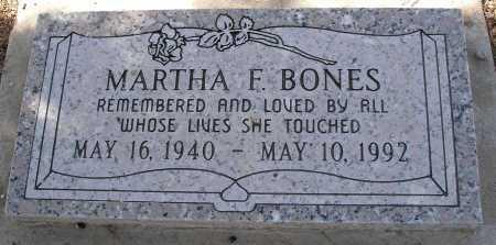 BONES, MARTHA F. - Mohave County, Arizona | MARTHA F. BONES - Arizona Gravestone Photos