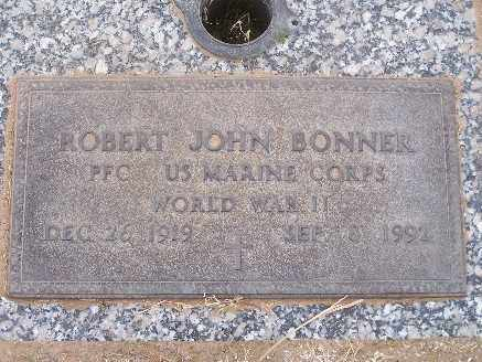 BONNER, ROBERT JOHN - Mohave County, Arizona | ROBERT JOHN BONNER - Arizona Gravestone Photos