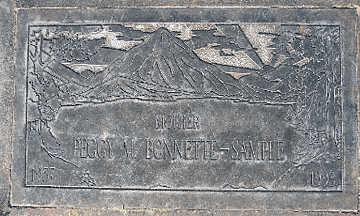 BONNETTE-SAMPLE, PEGGY M - Mohave County, Arizona | PEGGY M BONNETTE-SAMPLE - Arizona Gravestone Photos