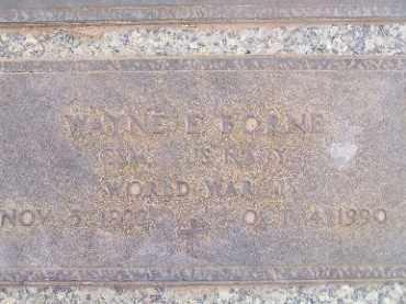 BORNE, WAYNE EUGENE - Mohave County, Arizona | WAYNE EUGENE BORNE - Arizona Gravestone Photos
