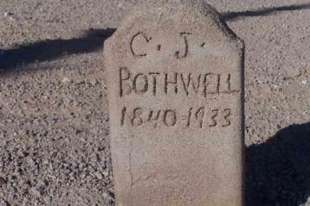 BOTHWELL, C.J. - Mohave County, Arizona | C.J. BOTHWELL - Arizona Gravestone Photos