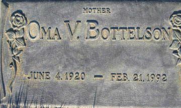 BOTTELSON, OMA V - Mohave County, Arizona   OMA V BOTTELSON - Arizona Gravestone Photos