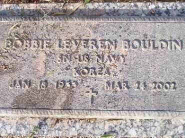 BOULDIN, BOBBIE LEVEREN - Mohave County, Arizona   BOBBIE LEVEREN BOULDIN - Arizona Gravestone Photos