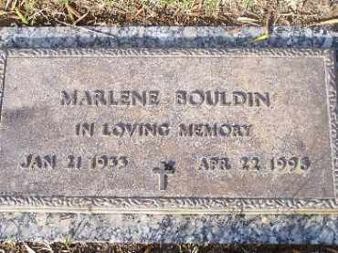 BOULDIN, MARLENE - Mohave County, Arizona | MARLENE BOULDIN - Arizona Gravestone Photos