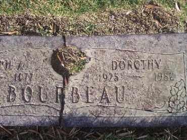 BOURBEAU, DOROTHY - Mohave County, Arizona | DOROTHY BOURBEAU - Arizona Gravestone Photos