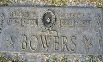 BOWERS, GERTRUDE Y - Mohave County, Arizona | GERTRUDE Y BOWERS - Arizona Gravestone Photos