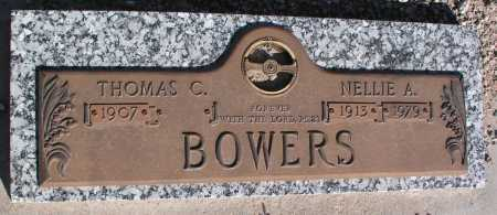BOWERS, NELLIE A. - Mohave County, Arizona | NELLIE A. BOWERS - Arizona Gravestone Photos
