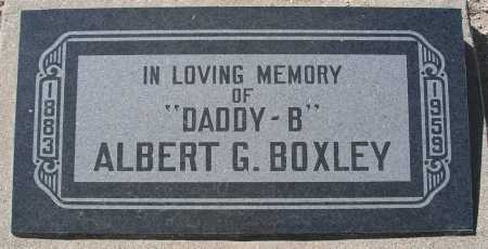 BOXLEY, ALBERT G. - Mohave County, Arizona | ALBERT G. BOXLEY - Arizona Gravestone Photos