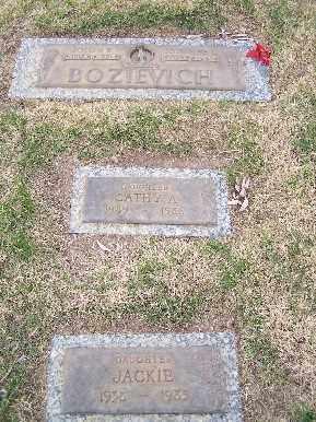 BOZIEVICH, JACKIE - Mohave County, Arizona | JACKIE BOZIEVICH - Arizona Gravestone Photos