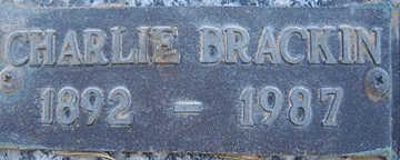 BRACKIN, CHARLIE - Mohave County, Arizona   CHARLIE BRACKIN - Arizona Gravestone Photos