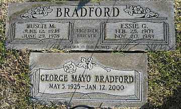 BRADFORD, GEORGE MAYO - Mohave County, Arizona | GEORGE MAYO BRADFORD - Arizona Gravestone Photos