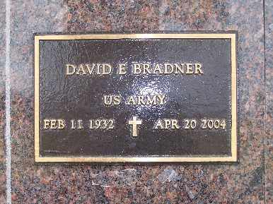 BRADNER, DAVID E - Mohave County, Arizona   DAVID E BRADNER - Arizona Gravestone Photos