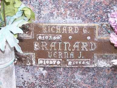 BRAINARD, RICHARD G - Mohave County, Arizona | RICHARD G BRAINARD - Arizona Gravestone Photos