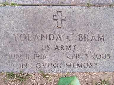 BRAM, YOLANDA C - Mohave County, Arizona | YOLANDA C BRAM - Arizona Gravestone Photos