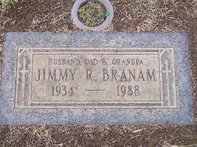 BRANAM, JIMMY R - Mohave County, Arizona   JIMMY R BRANAM - Arizona Gravestone Photos