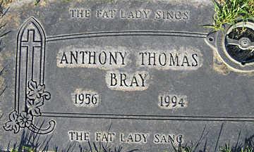 BRAY, ANTHONY THOMAS - Mohave County, Arizona | ANTHONY THOMAS BRAY - Arizona Gravestone Photos