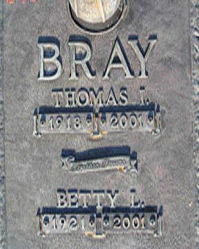 BRAY, BETTY L - Mohave County, Arizona | BETTY L BRAY - Arizona Gravestone Photos