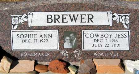 BREWER, COWBOY - Mohave County, Arizona | COWBOY BREWER - Arizona Gravestone Photos