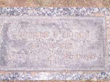 BRIGGS, WINIFRED - Mohave County, Arizona | WINIFRED BRIGGS - Arizona Gravestone Photos