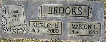 BROOKS, MARION L - Mohave County, Arizona | MARION L BROOKS - Arizona Gravestone Photos