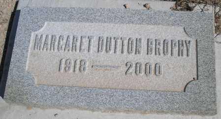 DUTTON BROPHY, MARGARET - Mohave County, Arizona   MARGARET DUTTON BROPHY - Arizona Gravestone Photos
