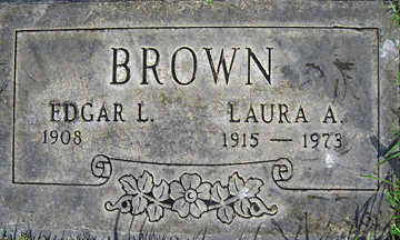BROWN, EDGAR L. - Mohave County, Arizona | EDGAR L. BROWN - Arizona Gravestone Photos