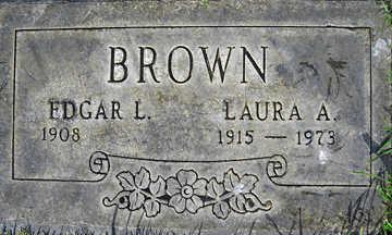 BROWN, LAURA AUGUSTA - Mohave County, Arizona | LAURA AUGUSTA BROWN - Arizona Gravestone Photos