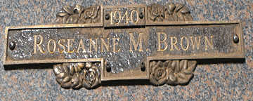 BROWN, ROSEANNE M - Mohave County, Arizona | ROSEANNE M BROWN - Arizona Gravestone Photos