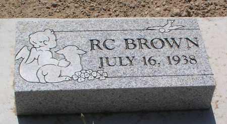 BROWN, RC - Mohave County, Arizona | RC BROWN - Arizona Gravestone Photos