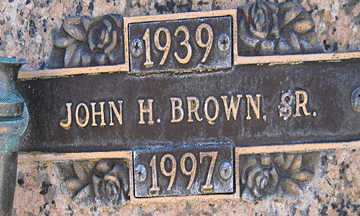 BROWN SR., JOHN H - Mohave County, Arizona | JOHN H BROWN SR. - Arizona Gravestone Photos