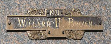 BROWN, WILLARD H - Mohave County, Arizona | WILLARD H BROWN - Arizona Gravestone Photos