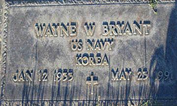 BRYANT, WAYNE W - Mohave County, Arizona | WAYNE W BRYANT - Arizona Gravestone Photos