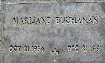 BUCHANAN, MARIJANE - Mohave County, Arizona | MARIJANE BUCHANAN - Arizona Gravestone Photos