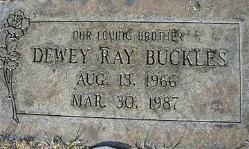 BUCKLES, DEWEY RAY - Mohave County, Arizona | DEWEY RAY BUCKLES - Arizona Gravestone Photos