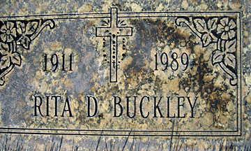 BUCKLEY, RITA D - Mohave County, Arizona | RITA D BUCKLEY - Arizona Gravestone Photos